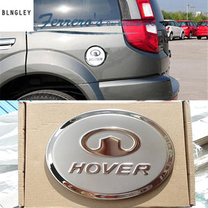 Free shipping car sticker stainless steel fuel tank cap decorate the sequins for Great Wall HOVER H3 H5 high quality