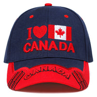 2019 new CANADA letter embroidery baseball cap hip hop version personality caps adjustable dad hat Outdoor Leisure sun hats