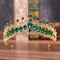 Bride Wedding Luxury Hair Accessories Girls Pageant Party Delicate Tiaras Women Fashion Shining Rhinestone Crowns Headpieces