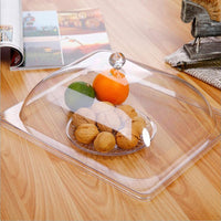 Highly Transparent Acrylic Food Cover PC Snack Display Cover Food Cube Top Quality Transparent Cake Cover