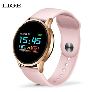 LIGE fitness tracker smart watch women Waterproof Sport For IOS Android phone Smartwatch