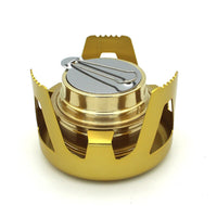 1 Pcs Ultralight Alcohol Stove Furnace Camping Hiking Solid Alcohol Burners Outdoor Cooking