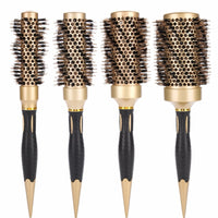 Professional Anti-static Round Hair Comb Salon Styling Brush Twill Nylon Broach Massager Detangle Salon Hair Care Styling Brushs