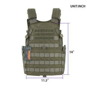 EXCELLENT ELITE SPANKER Outdoor 6094 Tactical Combat Vests Camouflage Military Vest Jungle Hunting Molle Vests Equipment