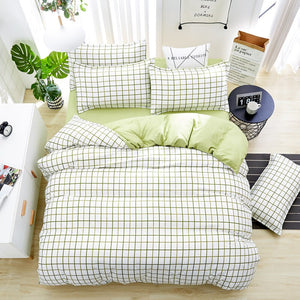 Home Textile Autumn Dark-color Flower Series Bed Linens 4pcs Bedding Sets Bed Set Duvet Cover Bed Sheet Mans Cover Set