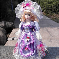 41 cm Russian ceramic doll Vitoria gift house decoration toys accessories factory direct sale wedding statues decoration dies
