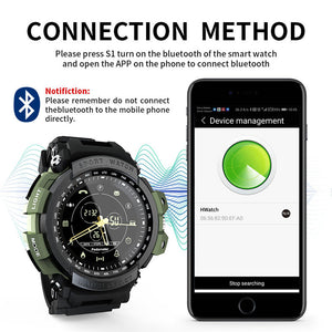 Teamyo Smart Watches Sports 50m Waterproof Bluetooth Call Reminder men Digital Men Clock Smart Watch For ios and Android phone