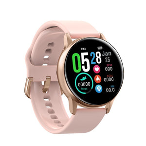 DT NO.1 DT88 Smart Watch Round Touch Screen Smartwatch Heart Rate Intelligent Fitness
