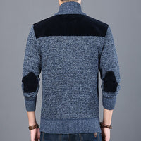 2020 Thick New Fashion Brand Sweater For Mens Cardigan Slim Fit Jumpers Knitwear Warm Autumn Casual Korean Style Clothing Male