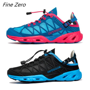 New Men Outdoor Sneakers Anti-skid Breathable Hiking Shoes Men Women Outdoor Hiking Sandals Men Trekking Trail Water Aqua Shoes