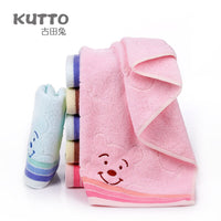 New Baby Face Towel Microfiber Drying Bath Towel Cartoon Children Towels Kid Washcloth 34x75cm