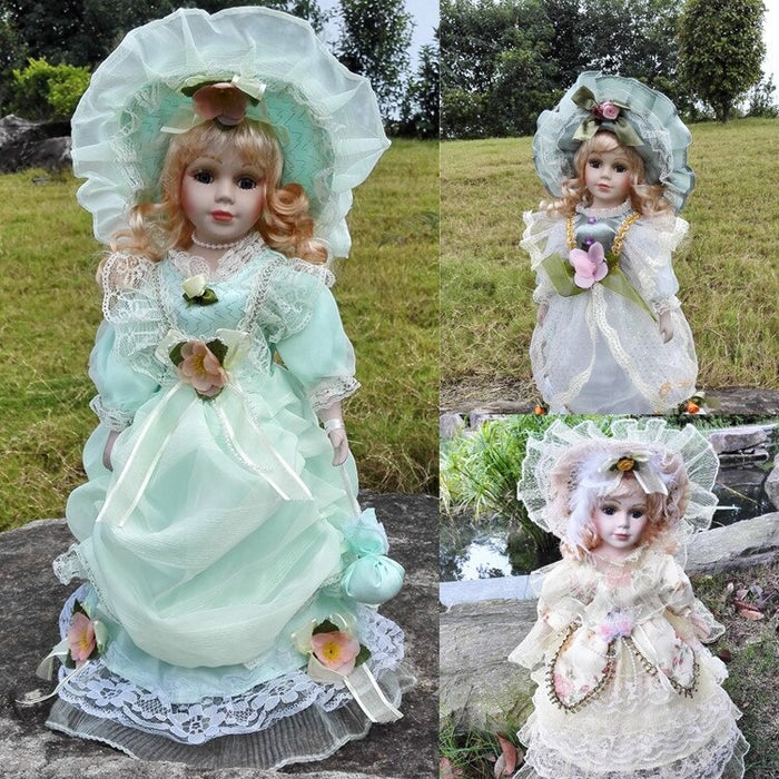 41 cm Russian ceramic doll Vitoria gift house decoration toys accessories factory direct sale