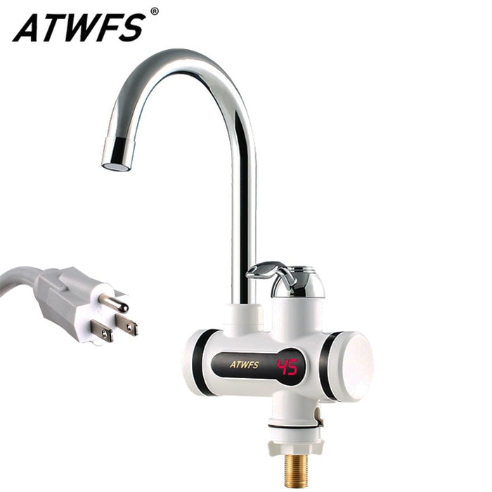 Instantaneous Water Heater Faucet Water Heaters Hot and Cold for Kitchen Instant Tankless Electric