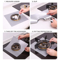 Stove Burner Covers 8 Pack Burner Protectors FDA Aprroved Gas Range Protectors