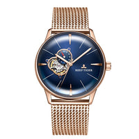 Luxury Brand Men Watch Automatic Mechanical Watches Rose Gold Bracelet Waterproof Watch