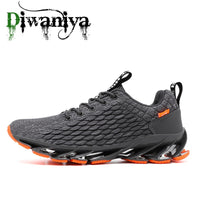 Diwaniya 2019 New Spring Autumn High Quality Men Running Shoes For Outdoor Comfortable