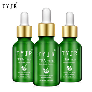 Tea Tree Nourishing Hair Care Essential Oil Anti-Alopecia Hair Growth Essence Natural Pure Essential Oil Dense Hair Growth TSLM2
