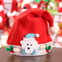 FUNNYBUNNY Christmas Theme Hats,Novelty Santa Hats,Christmas Ornaments for Children