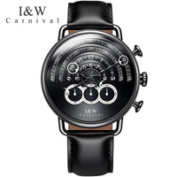 CARNIVAL New Men's Chronograph Analog Quartz Watch Sport Watch men 24hours display Sapphire Waterproof Fashion relogio masculino