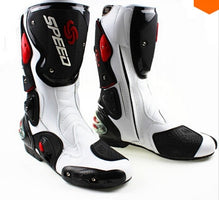Men's Motorcycle Protective Gear Boots Pro-Biker SPEED Riding Shoes Motocross Microfiber
