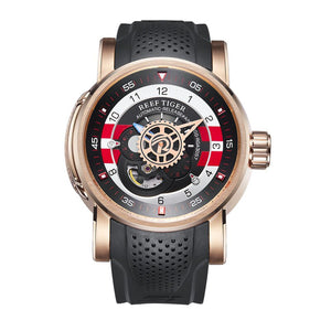 Designer Sport Watch for Men Luxury Brand Rose Gold Watches Reloj Hombre Waterproof