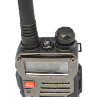 by dhl or ems 20pcs Black BAOFENG UV-5RE Walkie Talkie 136-174MHz&400-520 MHz Two Way Radio+earpiece