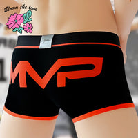 Bloom the love New MVP No. Man Boxer Men Underwear Mens Cotton Cuecas Masculina Calzoncillo Boxers Male Boxershorts Size M-3XL