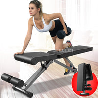 V303X3 Portable Dumbbell Stool Body Building Sit-Up Bench Household Fitness Chair Mutational Aerobics Stool Fitness Equipment