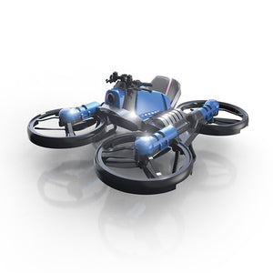 NEW 2 IN 1 rc Helicopter 2.4G rc quadcopter 15 Minutes Battery Life drone with camera 0.3MP WIFI real-time transmission toys