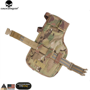 EMERSONGEAR MP7 Leg Holster Magazine Pouch Nylon Holster Hand Gun Holster Hunting Accessories Military Wargame Gun Pouch EM6212