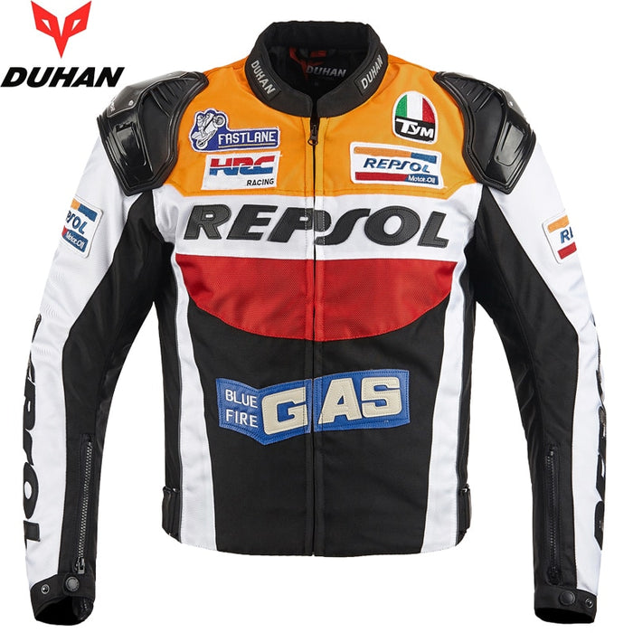 2019 NEW Motorcycle racing jacket Detachable lining jacket and motocross aluminum