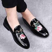 Men's Casual Shoes Loafers Men Leather Shoes Slip On Loafers Mens Moccasins Black Pu Leather Mens Shoe Casual Plus Size 46 47 48