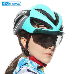 INBIKE Bike Helmet Bicycle MTB Road Helmet Cycling Helmet Bike Accessory casco capacete ciclismo kask  Mountain Bike Equipment