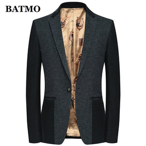 Batmo 2019 new arrival high quality 85% wool casual blazer men,men's suits jackets ,casual jackets