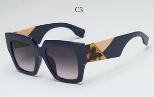 2020 New Oversized Square Sunglasses women Men luxury Brand Designer Sun glasses lady Retro