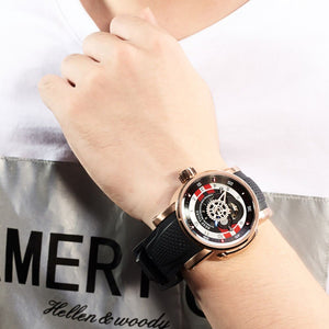 2019 Reef Tiger/RT Designer Sport Watch for Men Luxury Brand Rose Gold Watches Reloj Hombre Waterproof Automatic Watch RGA30S7