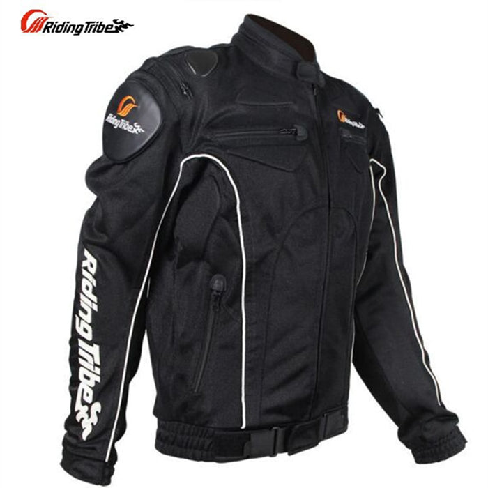 JK08 Motorcycle Protector Jacket Suit Motorbike Protection Riding Clothing Mesh jaqueta