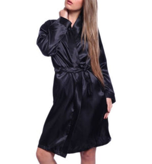 Sleepwear Lingerie Nightdress G-string Pajamas New Hot Sexy Women Satin Robe