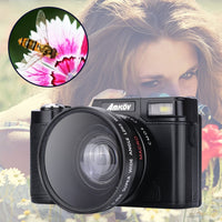 24Mega Mini Digital Camera pixe Original CDR2l 1080P HD  4Times Digital Zoom Camera with TFT Display Beauty Self timer Function