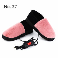220V Electric Heater Heating Shoes Temperature Control Heater Electric Foot Warmer Heating