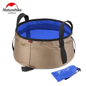 NatureHike Portable Outdoor Travel Folding Water Bucket Washbowl Fishing Bucket Water Pot Hiking Camping
