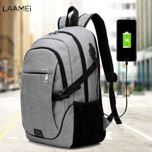 Laamei Men's Backpack Bag Laptop Backpack Computer Bags Back Pack Bagpack School Student College Students Bags Male Mochila