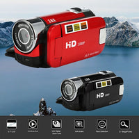 Video Camcorder HD 1080P Handheld Digital Camera 16X Digital Zoom mini camera wearable devices underwater camera
