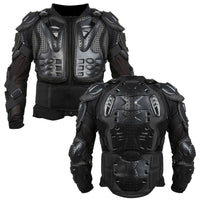 Full Body Motorcycle Armor Jacket Motocross Armor Motorcycle Gear Chest Protective Shoulder Hand Joint Protection Winter S-XXXL