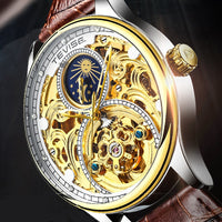 Tevise Automatic Watch Men Mechanical Watches Hollow Skeleton Self-Winding Male Luxury Brand Sport Wrist Watch Relogio Masculino