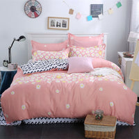 Family Wedding Bed Linens 100%Cotton High Quality Bedding Set Modern Minimalist Style