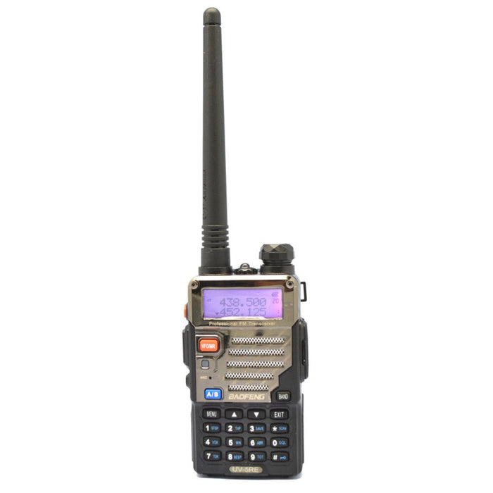 by dhl or ems 20pcs Black BAOFENG UV-5RE Walkie Talkie 136-174MHz&400-520 MHz Two Way