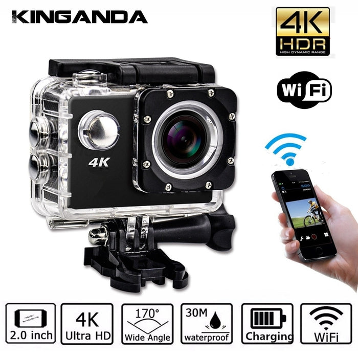 Professional Photo Vlog Camera For Video 4K UHD Action Sport Video Camera WiFi
