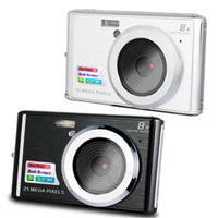 CDC3 2.7 Inch Digital Camera TFT HD Screen 21MP CMOS 5.0MP Anti-shake 1080P Digital Video Camera with 8X Digital Zoom