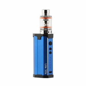 Lite 50s Box mod Vape 10-50w Adjustable Wattage battery with 2ml Tank vapor pen starter vape Kit
